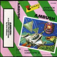 Videojuegos y Consolas: AMBUSH - JUEGO COMMODORE 64 - 1984. Lote 24759550