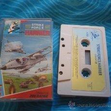 Videojuegos y Consolas: STRIKE FORCE HARRIER ¡BUEN ESTADO! COMMODORE C64/128 CASSETTE CINTA. Lote 25481879