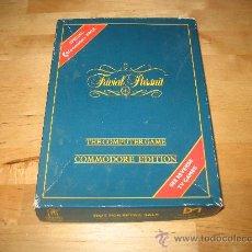 Videojuegos y Consolas: JUEGO COMMODORE - TRIVIAL PURSUIT SPECIAL PACK - 5 JUEGOS HABILIDAD E INGENIO QUIZ - 1983. Lote 28126637