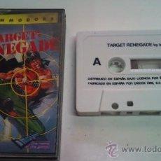 Videojuegos y Consolas: JUEGO TARGET RENEGADE PARA COMMODORE. Lote 29041361
