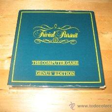Videojuegos y Consolas: JUEGO COMMODORE 64 128 - TRIVIAL PURSUIT GENUS EDITION - HABILIDAD E INGENIO PREGUNTAS - DOMARK 1988. Lote 29559248