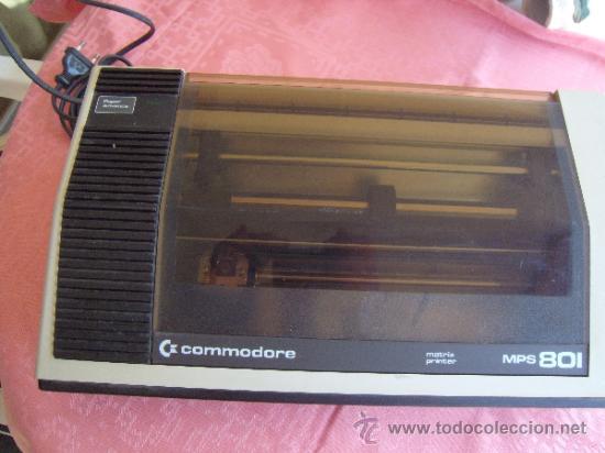 IMPRESORA MPS-801--Commodore 64