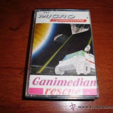 Videojuegos y Consolas: JUEGO COMMODORE TU MICRO GANIMEDIAN RESCUE. Lote 32577019