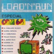 Videojuegos y Consolas: COMMODORE - LOAD N RUN - JUEGOS+UTILIDADES. Lote 34640983