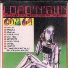 Videojuegos y Consolas: COMMODORE - LOAD'N'RUN - JUEGOS+UTILIDADES. Lote 34640996