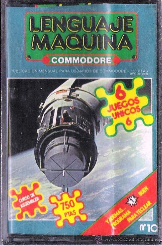 COMMODORE 64 - LENGUAJE MÁQUINA CASSETE CON JUEGOS Nº 1 (Juguetes - Videojuegos y Consolas - Commodore)