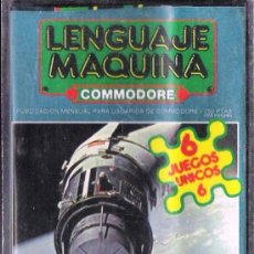 Videojuegos y Consolas: COMMODORE 64 - LENGUAJE MÁQUINA CASSETE CON JUEGOS Nº 1. Lote 34641969