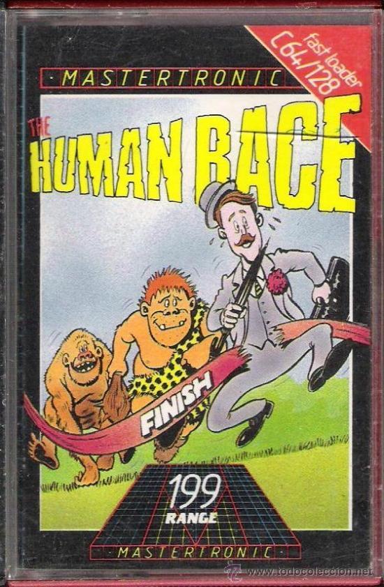 JUEGO COMMODRE 64/128: HUMAN RACE (Juguetes - Videojuegos y Consolas - Commodore)
