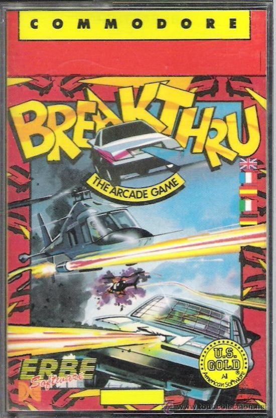 JUEGO COMMODRE 64 : BREAKTHROUGH (Juguetes - Videojuegos y Consolas - Commodore)