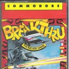 Videojuegos y Consolas: JUEGO COMMODRE 64 : BREAKTHROUGH. Lote 34920516