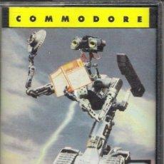 Videojuegos y Consolas: JUEGO COMMODRE 64 : SHORT CIRCUIT. Lote 34920625