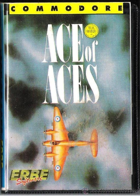 JUEGO COMMODORE 64 - ACE OF ACES (Juguetes - Videojuegos y Consolas - Commodore)
