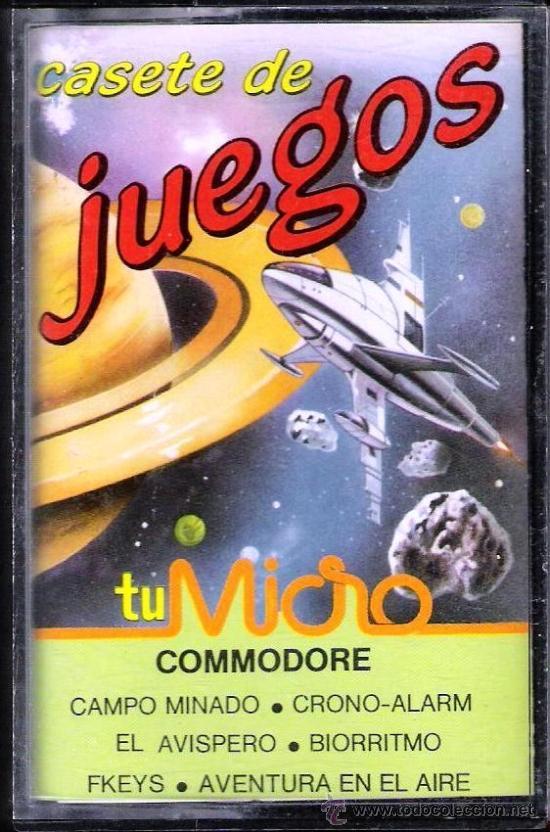 JUEGO COMMODORE 64 - CASSETTE DE JUEGOS (Juguetes - Videojuegos y Consolas - Commodore)