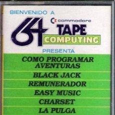 Videojuegos y Consolas: COMMODORE 64 TAPE COMPUTING. Lote 37480890