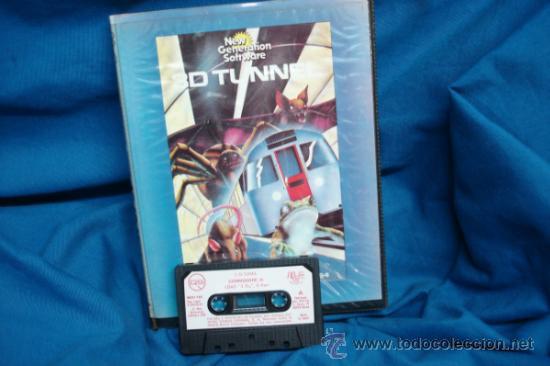 COMMODORE - 3D TUNNEL - RUNS ON THE COMMODORE 64 - MIND GAMES ESPAÑA 1984 (Juguetes - Videojuegos y Consolas - Commodore)