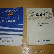 Videogiochi e Consoli: MANUALES DE USUARIO DEL COMMODORE 64. Lote 39195309
