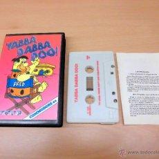 Videojuegos y Consolas: JUEGO COMMODORE 64-YABBA DABBA DOO LOS PICAPIEDRA-COMPLETO Y FUNCIONANDO-EDICION ESPAÑOLA-PAL EUROPA. Lote 39878811