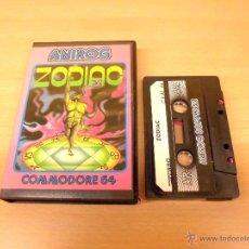 Videojuegos y Consolas: JUEGO COMMODORE 64-ZODIAC-COMPLETO Y FUNCIONANDO-EDICION ESPAÑOLA-PAL EUROPA. Lote 39879571