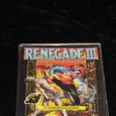 Videojuegos y Consolas: RENEGADE III PARA COMMODORE 64. Lote 40150520
