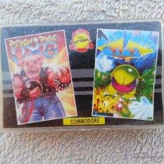 Videojuegos y Consolas: PSYCHO PIGS / MAD MIX GAME - CINTA CASETE JUEGOS COMMODORE - PRECINTADA. Lote 40415823