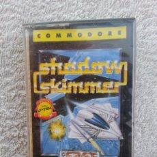 Videojuegos y Consolas: SHADOW SKIMMER - CINTA CASETE JUEGO COMMODORE - PRECINTADA. Lote 40430861