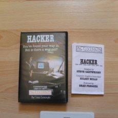 Videojuegos y Consolas: HACKER JUEGO COMMODORE CBM 64/128. Lote 41418068