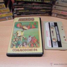Videojuegos y Consolas: JUEGO COMMODORE 64-CYBOTRON-ANIROG-COMPLETO-INSTRUCCIONES INTERIOR. Lote 41795955