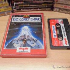 Videojuegos y Consolas: JUEGO COMMODORE 64-THE COMET GAME-INSTRUCCIONES INTERIOR-ED.ESPAÑOL. Lote 41796640
