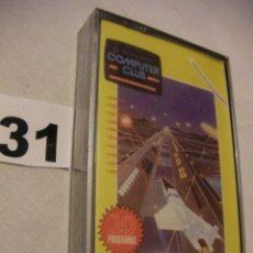 Videojuegos y Consolas: ANTIGUO CASSETTE CON 10 JUEGOS COMPUTER CLUB - NUEVO - PRECINTADO - ENVIO GRATIS A ESPAÑA. Lote 42323238