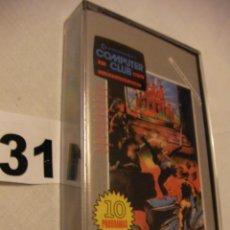 Videojuegos y Consolas: ANTIGUO CASSETTE CON 10 JUEGOS COMPUTER CLUB - NUEVO - PRECINTADO - ENVIO GRATIS A ESPAÑA . Lote 42323839