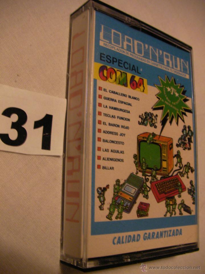 ANTIGUO CASSETTE CON 10 JUEGOS ESPECIAL COM 64 - NUEVO - PRECINTADO - ENVIO GRATIS A ESPAÑA (Juguetes - Videojuegos y Consolas - Commodore)