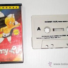 Videojuegos y Consolas: DUMMY RUN BY MIKRO-GEN - ERBE SOFTWARE [COMMODORE 64 C64]. Lote 42407841