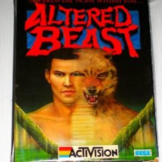 Videojuegos y Consolas: ALTERED BEAST [ACTIVISION] [SEGA] [1989] MCM SOFTWARE [COMMODORE 64 C64]. Lote 42672306