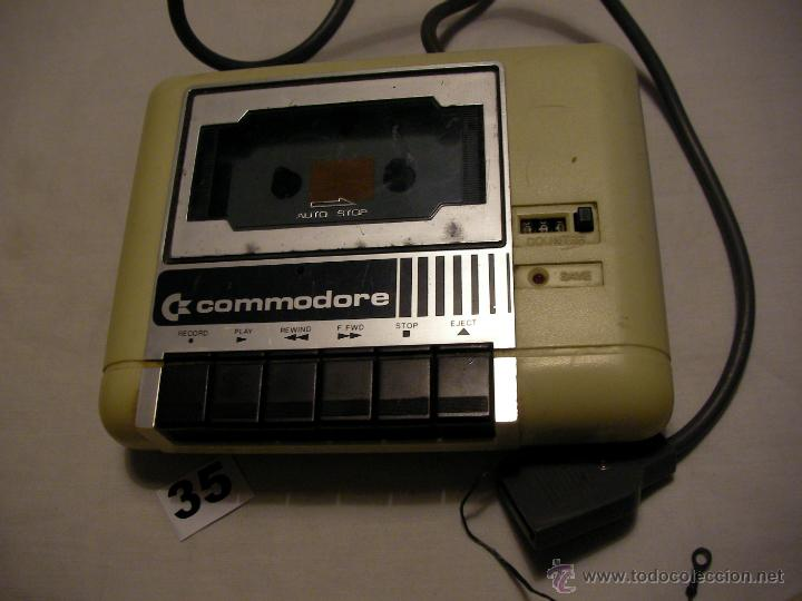 ANTIGUO CASSETTE PARA CONSOLA COMMODORE (Juguetes - Videojuegos y Consolas - Commodore)