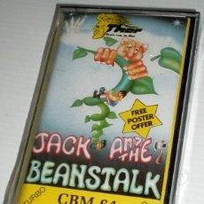 Videojuegos y Consolas: JACK AND BEAMSTALK [THOR COMPUTER SOFTWARE] [1984] [COMMODORE 64 C64]. Lote 43788357