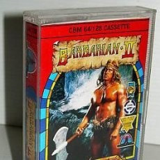 Videojuegos y Consolas: BARBARIAN 2 THE DUNGEON OF DRAX [PALACE SOFTWARE] (1988) [COMMODORE 64] [C64]. Lote 36376015