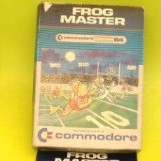 Videojuegos y Consolas: JUEGO DE ORDENADOR RETRO VINTAGE COMMODORE 64 CARTUCHO COMPLETO CAJA E INSTRUCCIONES FROG MASTER. Lote 44223914