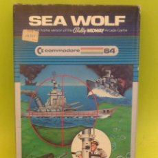 Videojuegos y Consolas: JUEGO DE ORDENADOR RETRO VINTAGE COMMODORE 64 CARTUCHO COMPLETO CAJA E INSTRUCCIONES SEA WOLF. Lote 44224015
