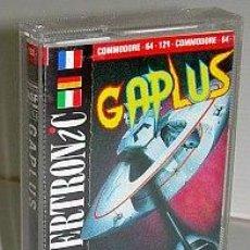 Videojuegos y Consolas: GAPLUS [DIGITAL DESIGN] 1988 [NAMCO] [MASTERTRONIC] [COMMODORE 64 C64] GALAGA GALAXIAN INVADERS. Lote 44900318