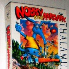 Videojuegos y Consolas: NOBBY THE AARDVARK [THALAMUS EUROPE] 1993 [COMMODORE 64 / 128 C64 C128] [NUEVO PRECINTADO]. Lote 70538825