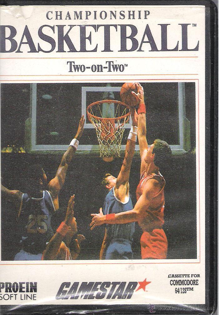 CHAMPIONSHIP BASKETBALL TWO-ON-TWO / COMMODORE 64/128 (Juguetes - Videojuegos y Consolas - Commodore)