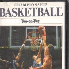 Videojuegos y Consolas: CHAMPIONSHIP BASKETBALL TWO-ON-TWO / COMMODORE 64/128. Lote 45648902