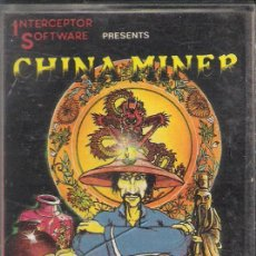 Videojuegos y Consolas: CHINA MINER/ COMMODORE 64. Lote 45698519