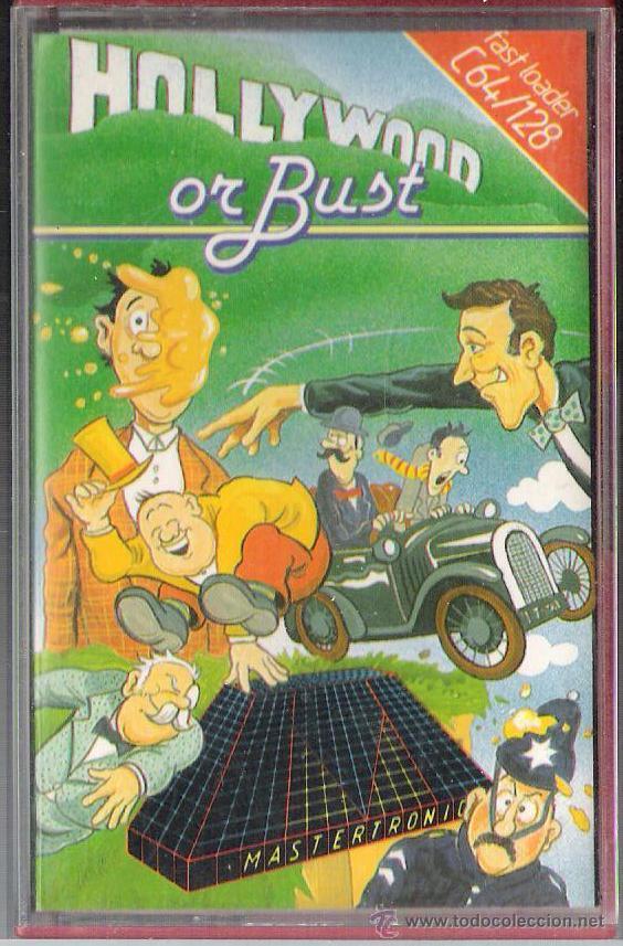 HOLLYWOOD OR BUST / COMMODORE 64 (Juguetes - Videojuegos y Consolas - Commodore)
