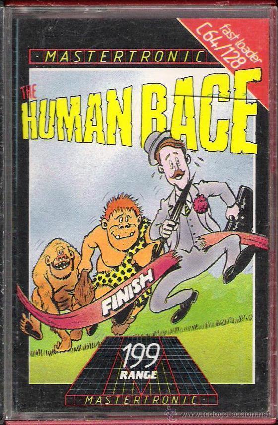 THE HUMAN RACE / COMMODORE 64 (Juguetes - Videojuegos y Consolas - Commodore)