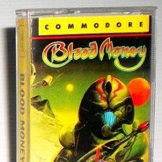 Videojuegos y Consolas: BLOOD MONEY [DMA DESIGN] 1989 PSYGNOSIS ERBE SOFTWARE [COMMODORE 64 C64]. Lote 45970724