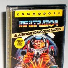 Videojuegos y Consolas: INFILTRATOR CREATED BY CHRIS GRAY - ERBE SOFTWARE [COMMODORE 64 C64]. Lote 42406798