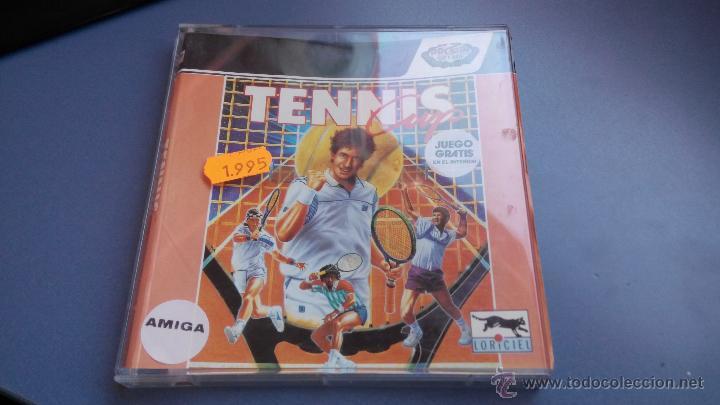 COMMODORE AMIGA JUEGO DISCO TENNIS (Juguetes - Videojuegos y Consolas - Commodore)