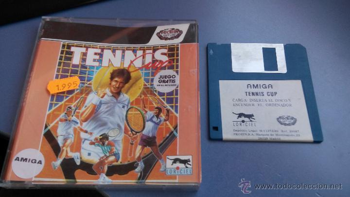 Videojuegos y Consolas: commodore amiga juego disco tennis - Foto 3 - 47415664
