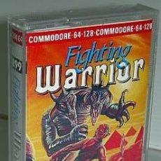 Videojuegos y Consolas: FIGHTING WARRIOR [MELBOURNE HOUSE] [1985] MASTERTRONIC PLUS [COMMODORE 64 C64 C128]. Lote 47542312